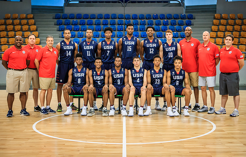 2017 USA Men's U19 World Cup Team