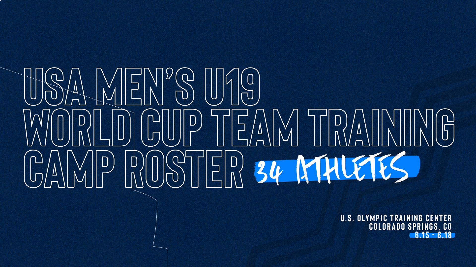 2019 USA Men's U19 Training Camp Roster 34
