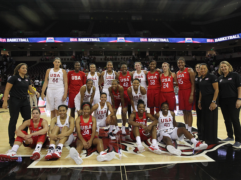 2018 USA National Team Red-White Exhibition