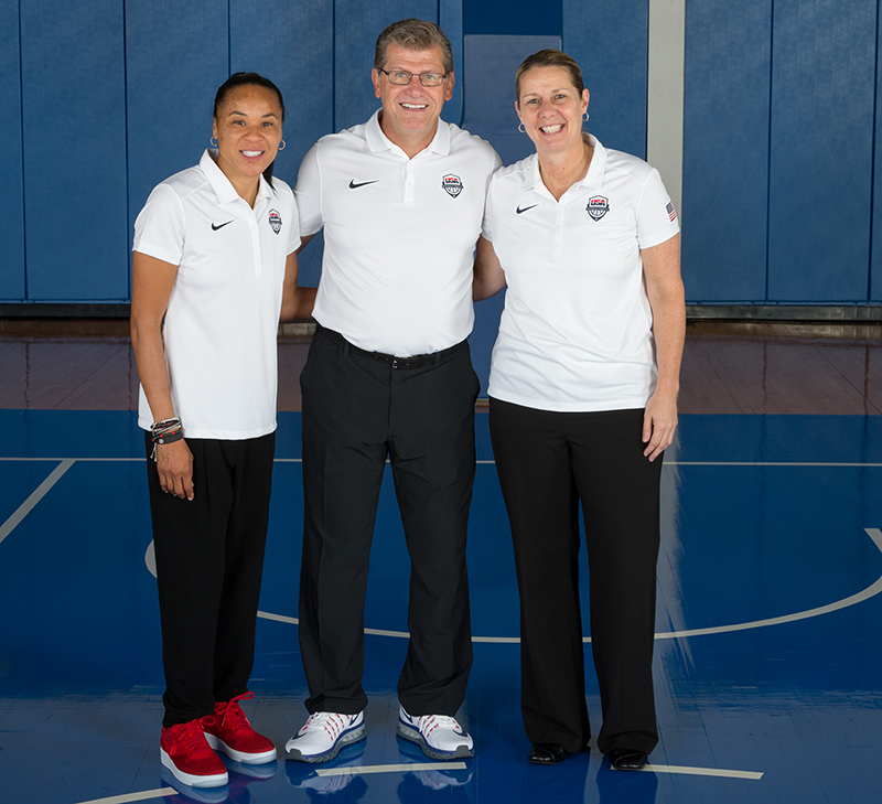 Dawn Staley, Geno Auriemma and Cheryl Reeve are repping Philly in Rio!