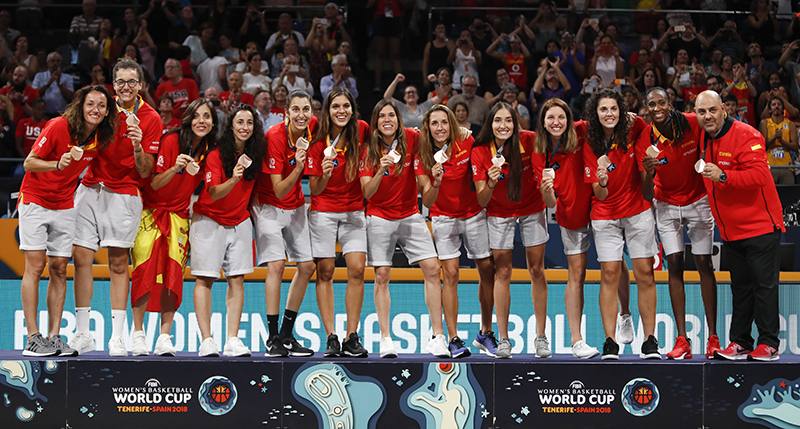 2018 FIBA World Cup Bronze Medalists