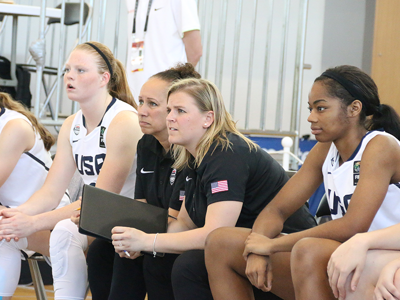 USA assistant coaches