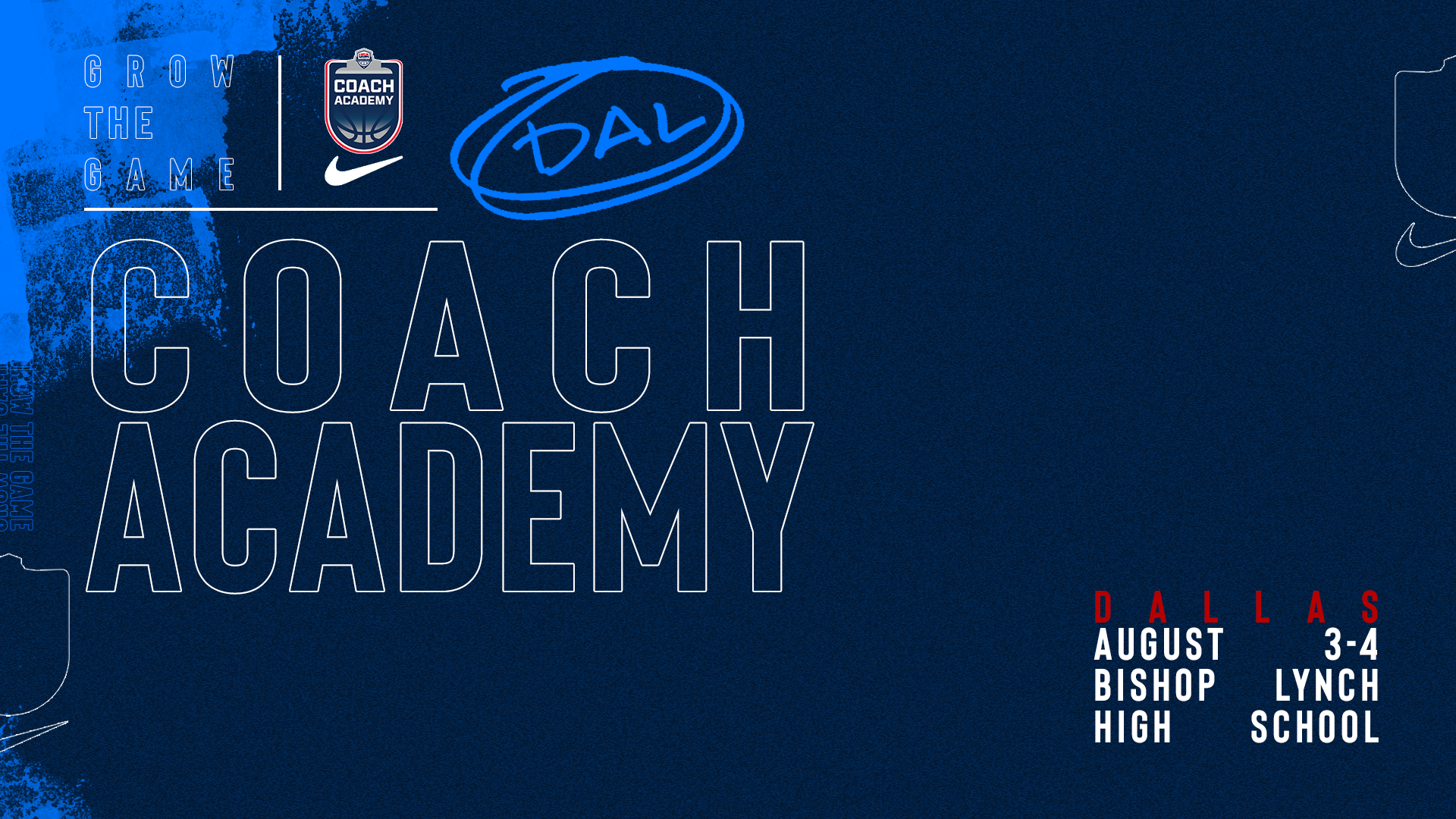 Dallas Coach Academy Graphic