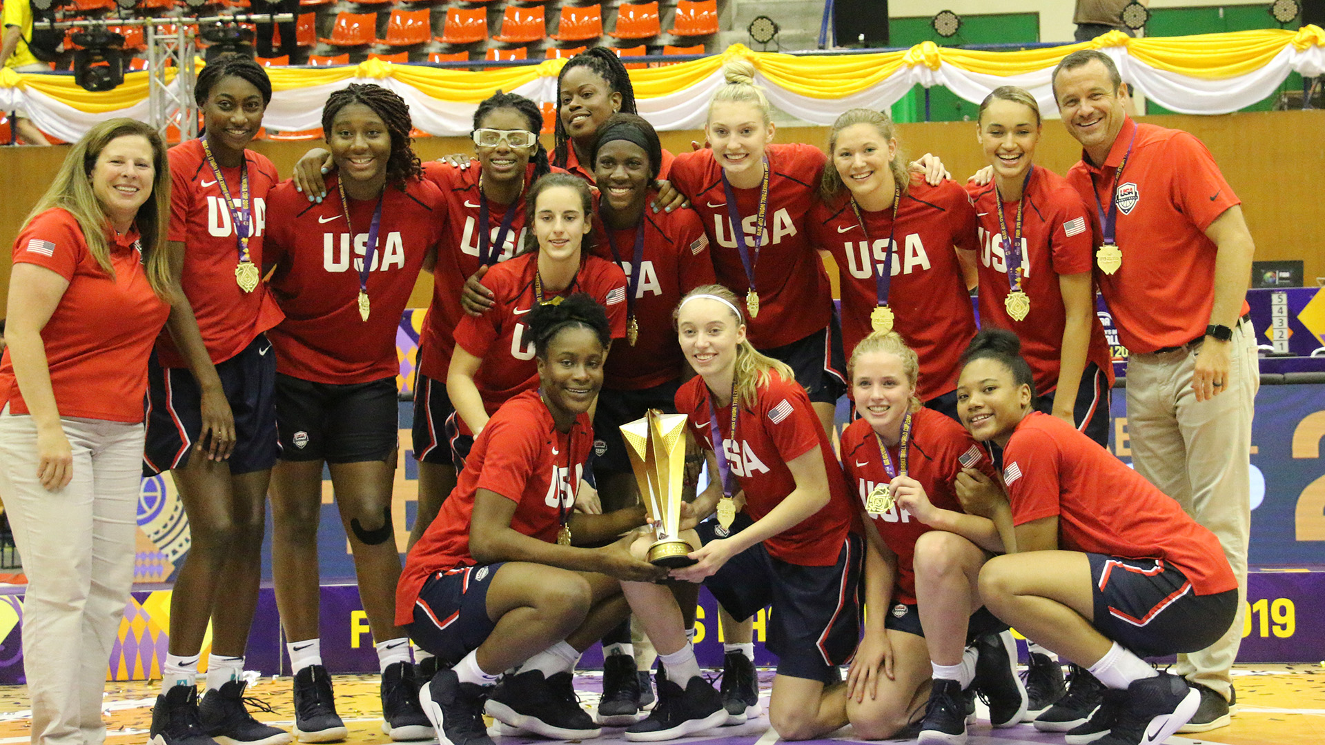 2019 USA WU19 Gold Medalists