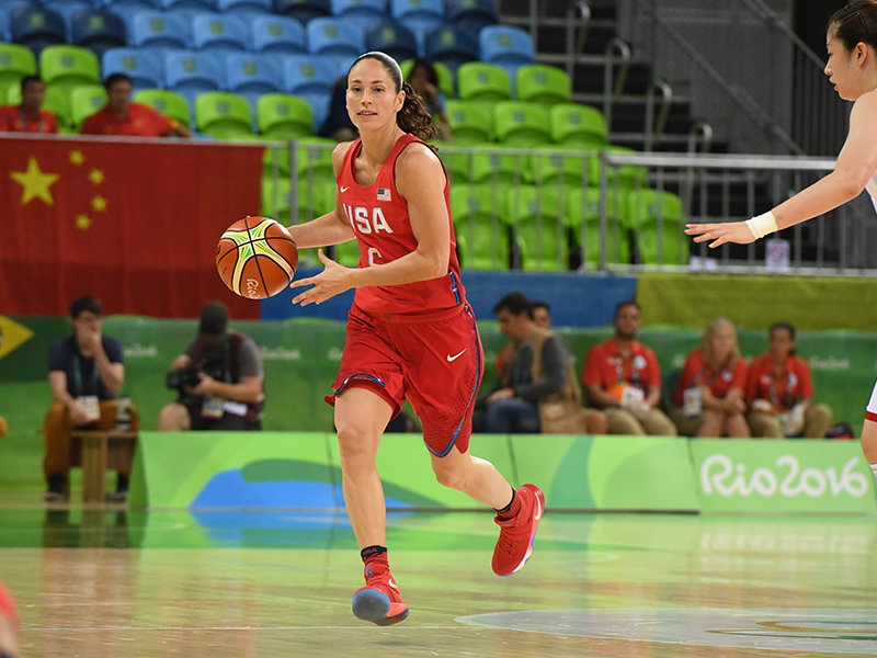 Sue Bird scored seven points and dished out five assists against China.