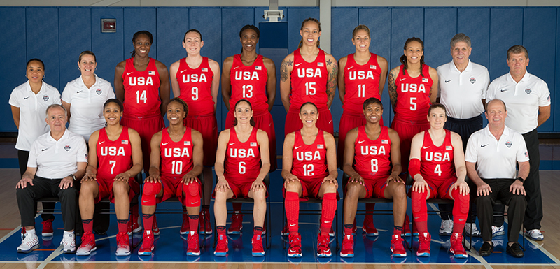 Presenting the 2016 U.S. Olympic Women's Basketball Team!