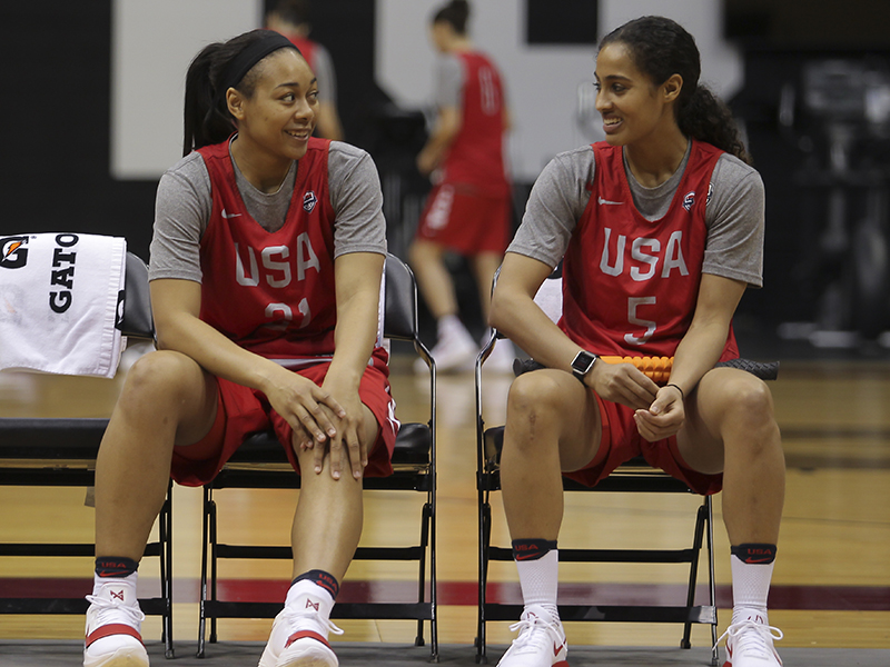 Allisha Gray, Skylar Diggins-Smith