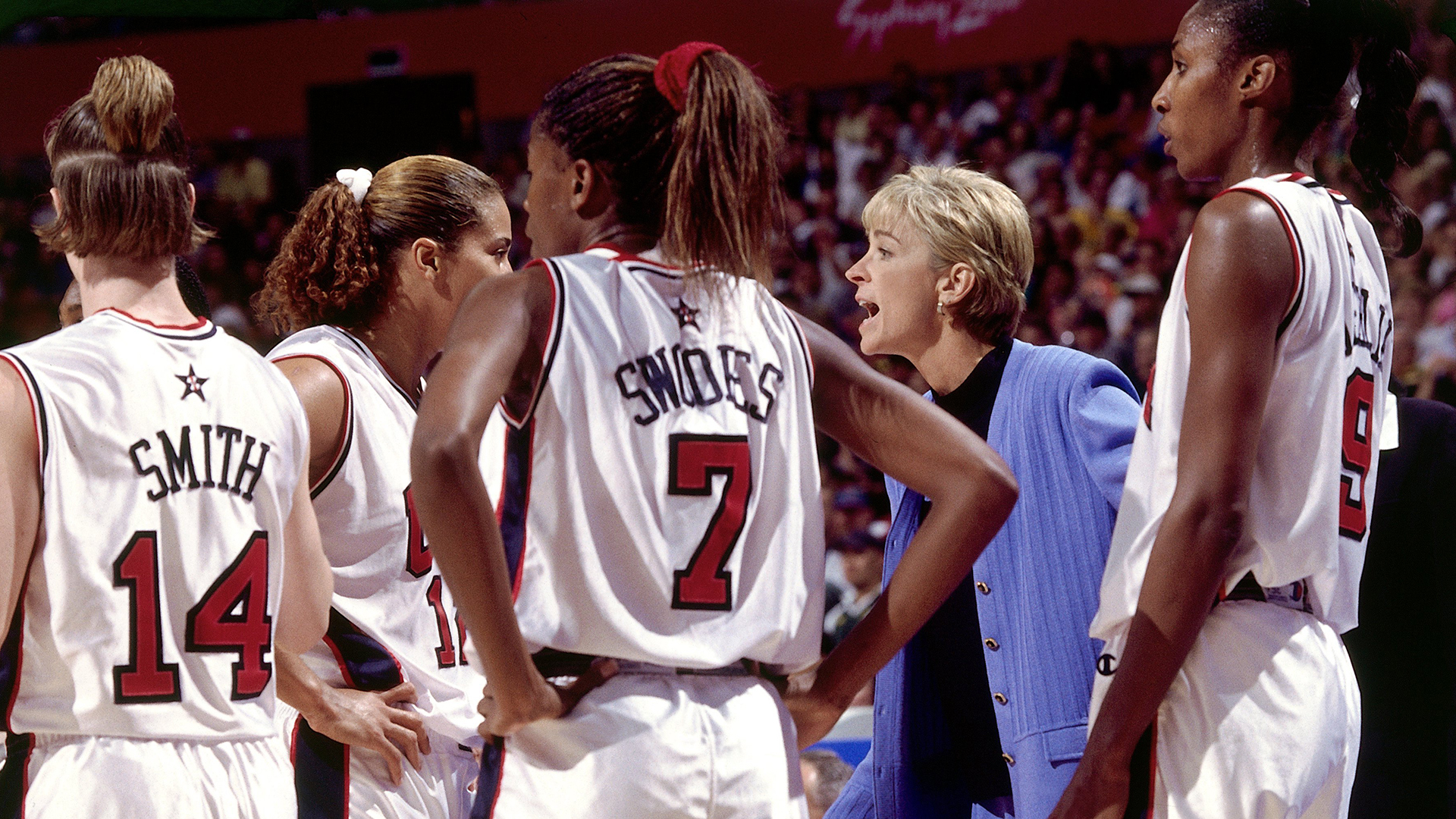 Nell Fortner, 2000 USA Basketball Women's Olympic Team