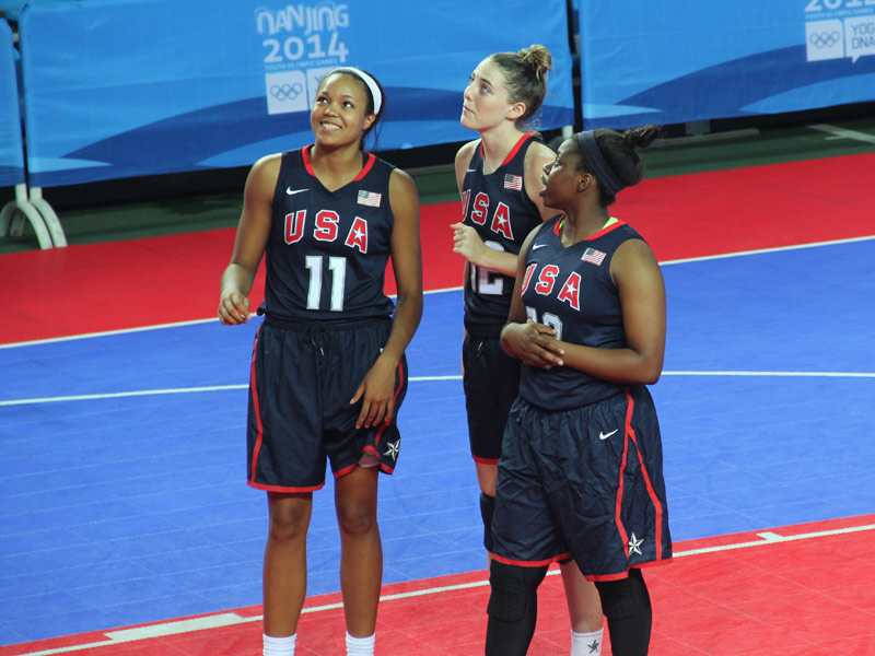Women's Youth Olympic Games team