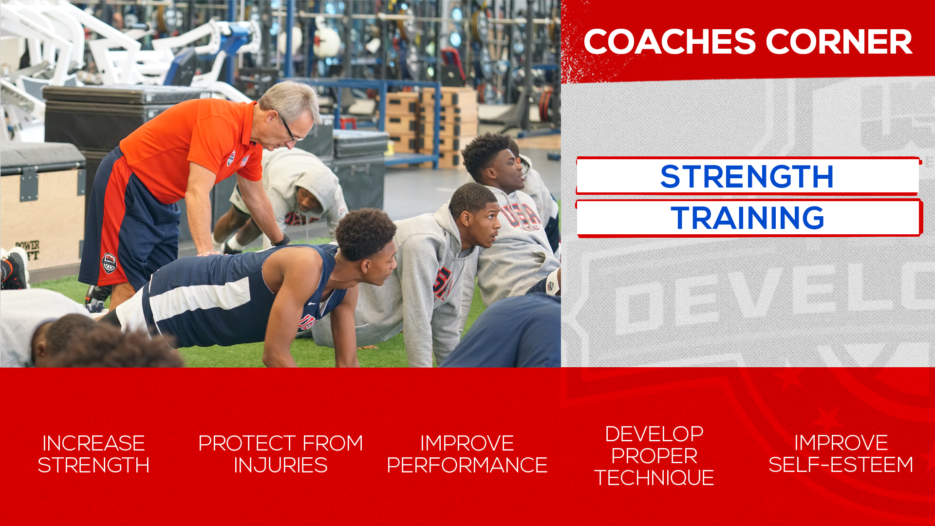 Coaches Corner: Strength Training