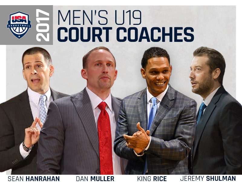 2017 MU19 Court Coaches