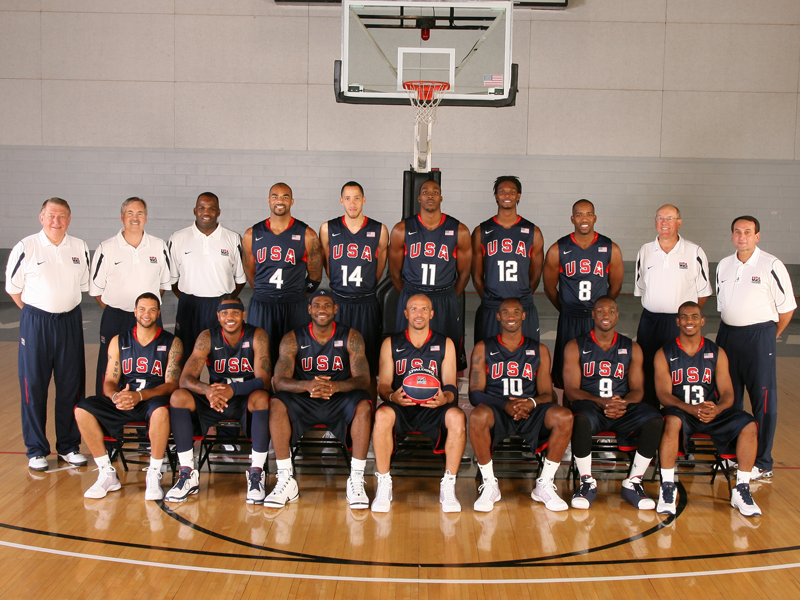 2008 U.S. Olympic Men's Basketball Team