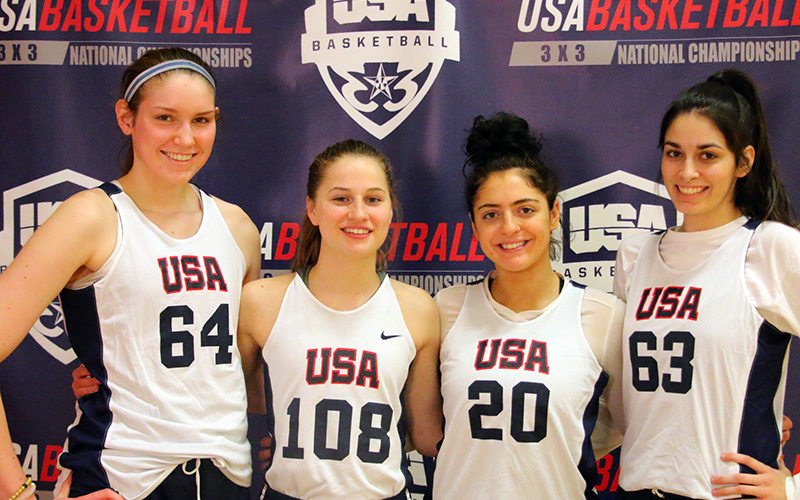3x3 WU18 NC Team Photos