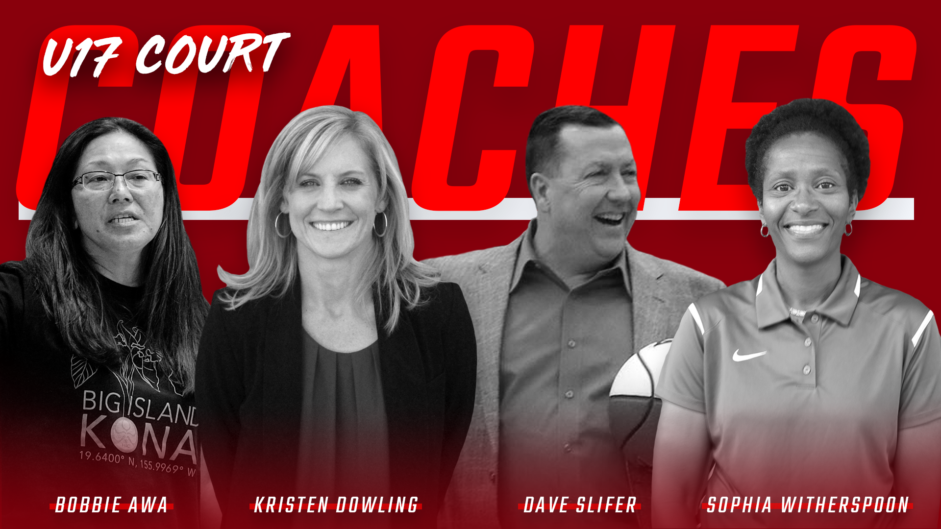 2018 USA Women's U17 Court Coaches