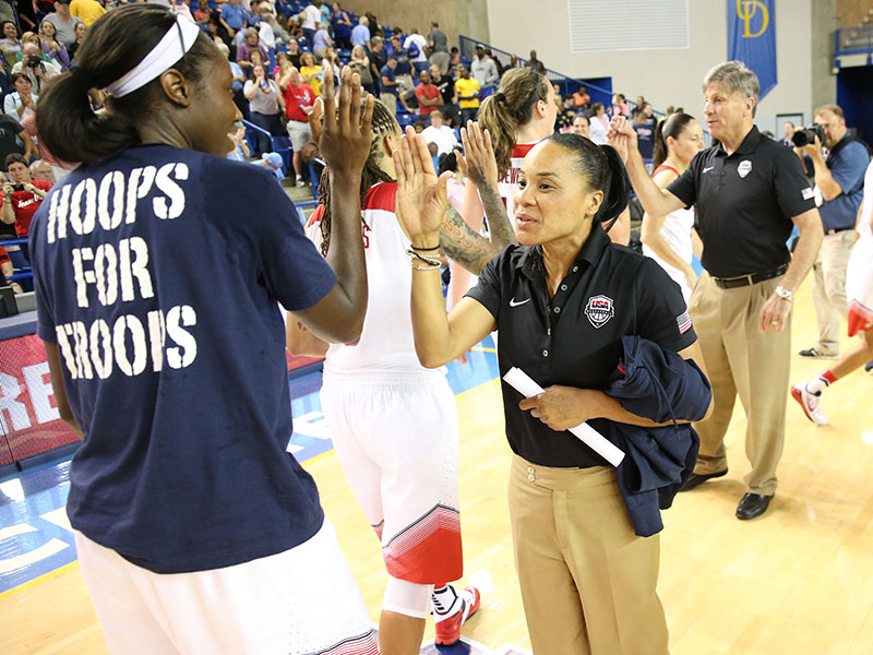 18 2015 wnt red v white game dawn staley GettyImages 455285542jpg