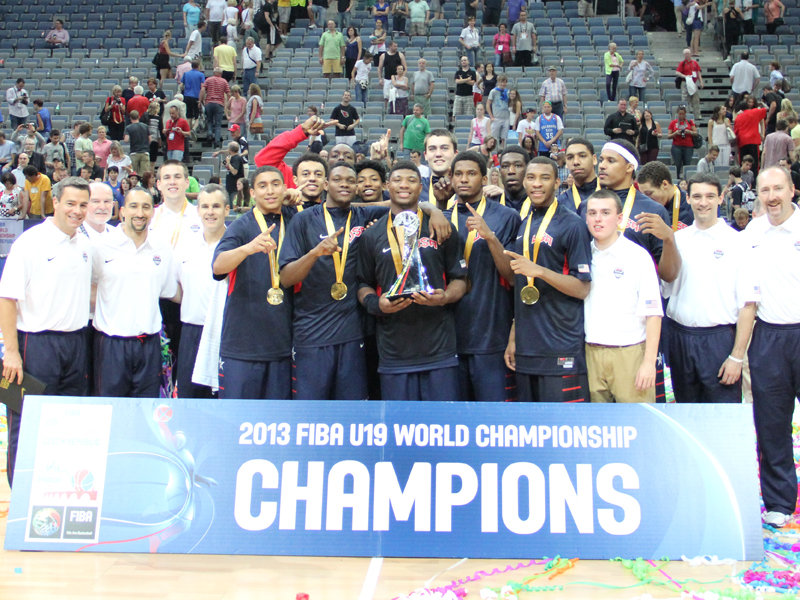 2013 USA Men's U19 World Championship Team