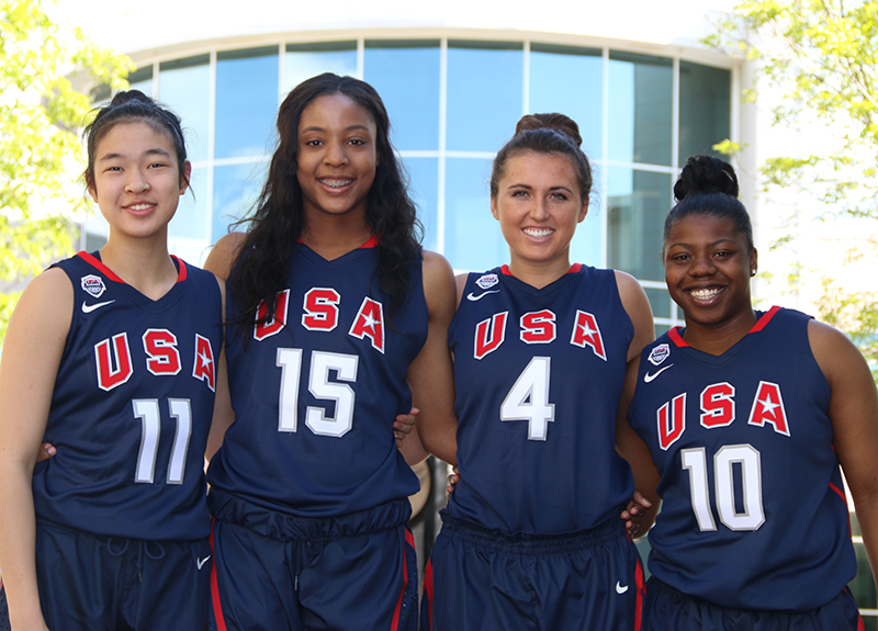 2015 USA Women's 3x3 U18 World Championship Team