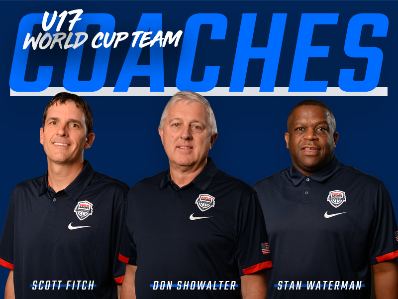 2018 USA Men's U17 Coaches