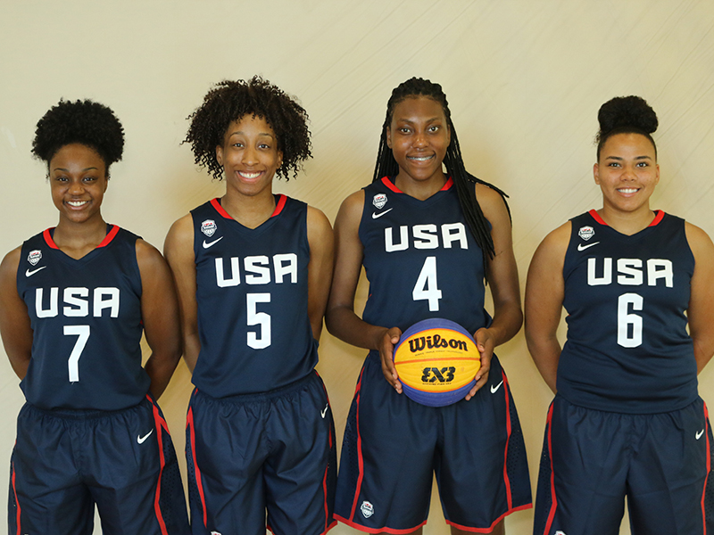 2017 USA Women's 3x3 U18 World Cup Team