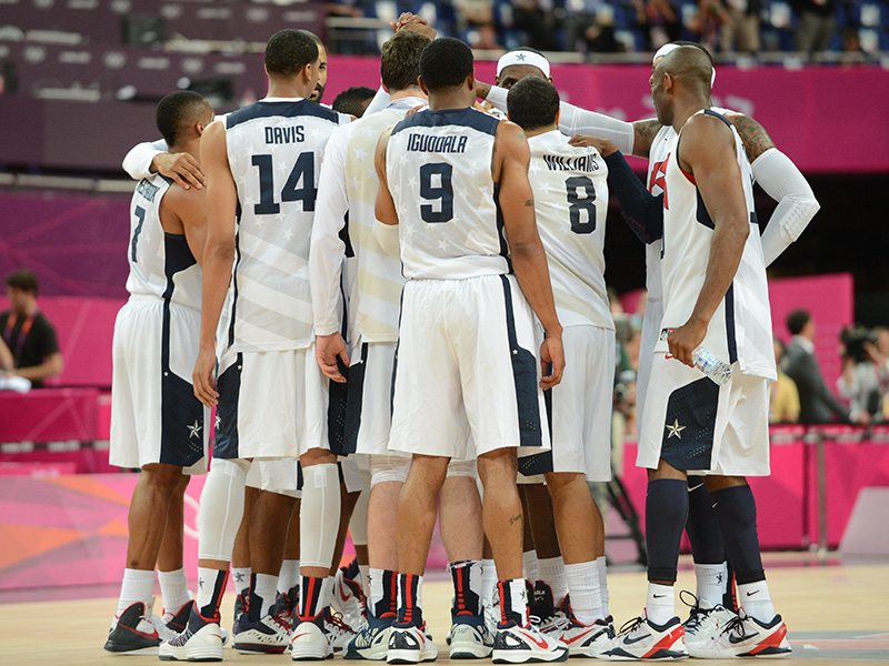 2012 U.S. Olympic Men's Basketball Team