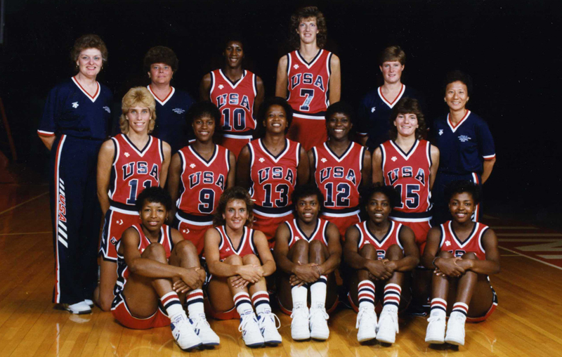 1987 USA Women's Pan American Games Team