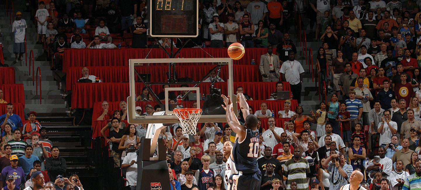 Kobe Bryant's 2007 USA National Team exhibition game-winning shot