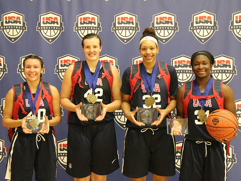 Defend - Women's 3x3 National Tournament Gold Medalists
