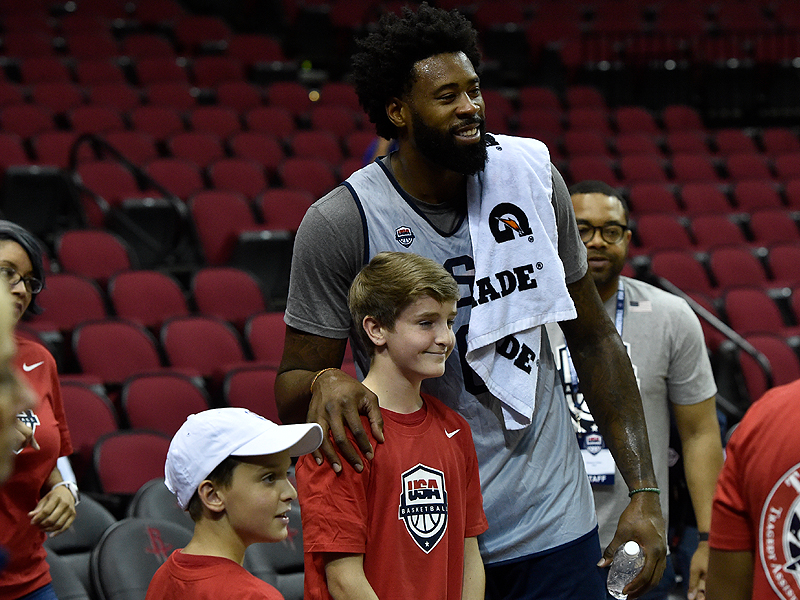 DeAndre Jordan and TAPS