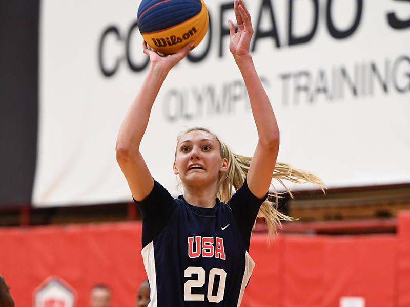 Cameron Brink (Southridge H.S./Beaverton, OR) (PHOTO: Garrett Ellwood/USA Basketball)