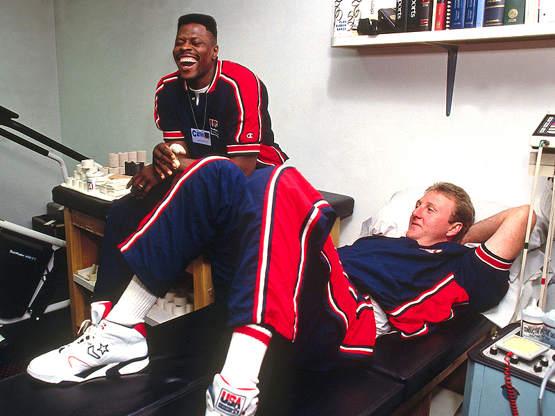 Patrick Ewing-Larry Bird