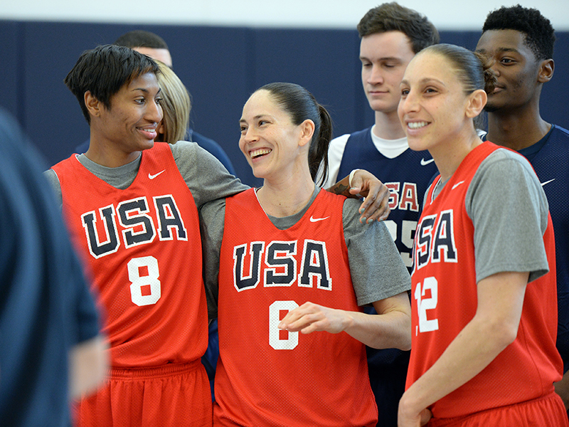 McCoughtry, Bird and Taurasi