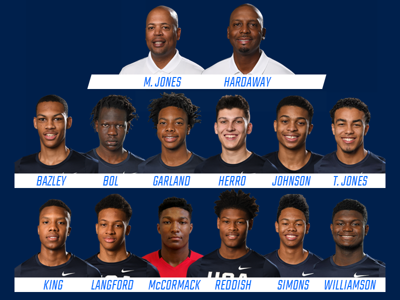 2018 USA Nike Hoop Summit Team
