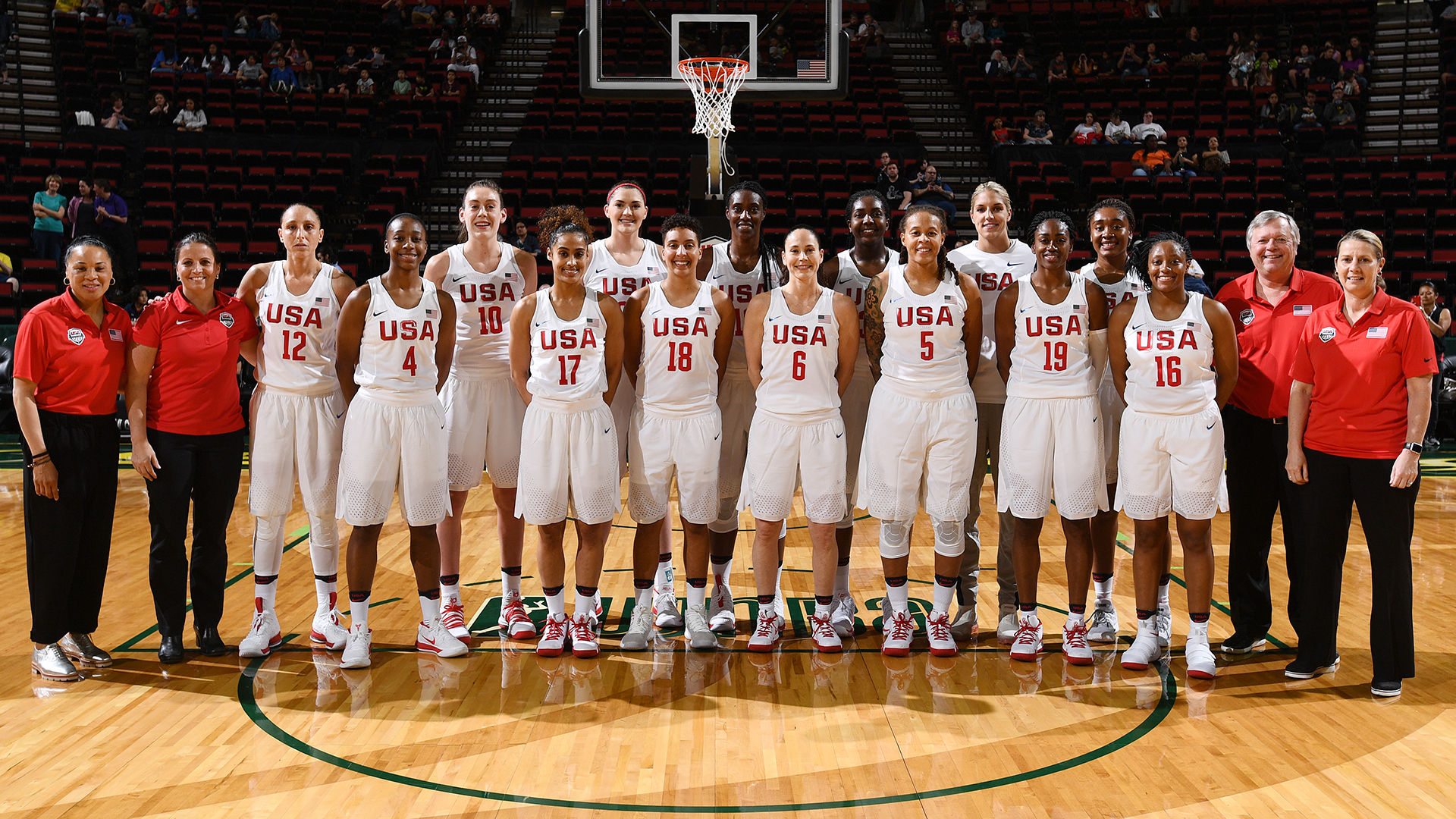 2018 USA Basketball Women's National Team