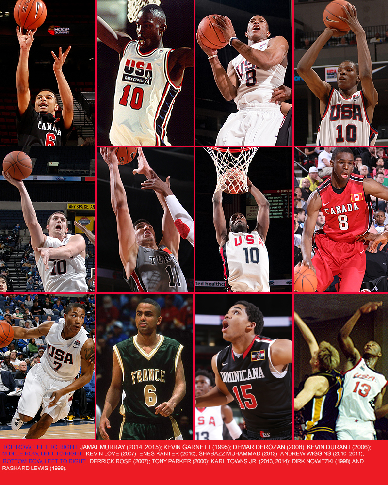 Nike Hoop Summit Collage