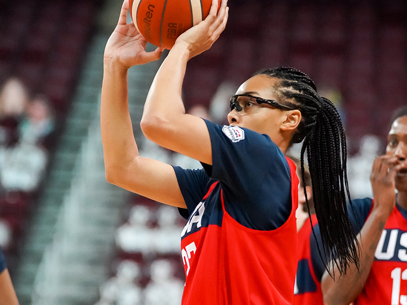 Allisha Gray also is a member of the USA 3x3 Olympic Qualifying Team.