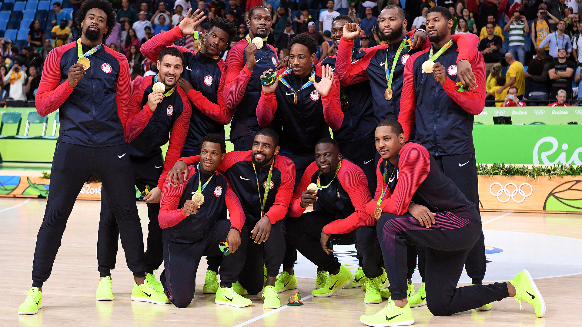 2016 uas basketball gold medal mens team