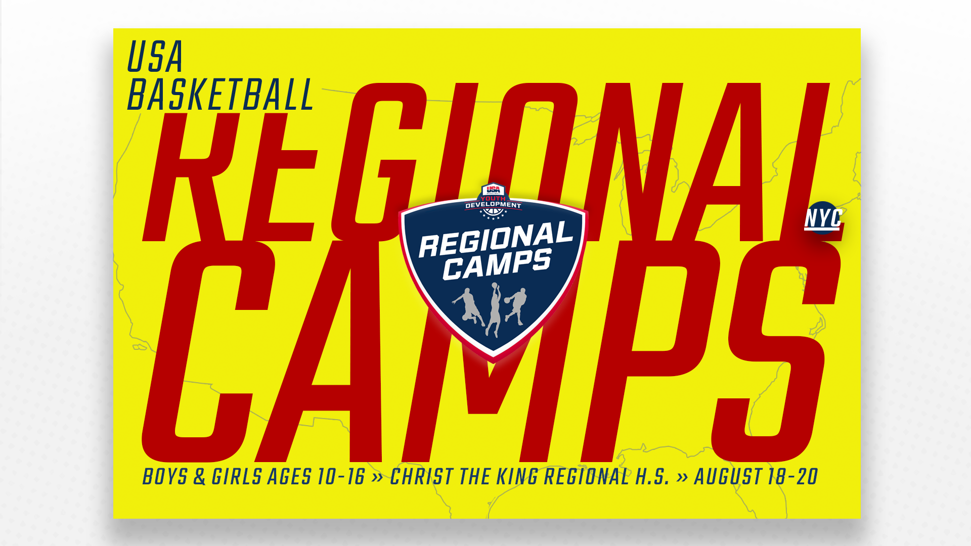 USA Basketball New York Regional Camp