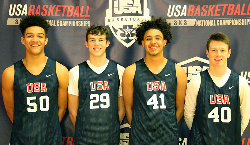3x3 MU18 NC Team Photos