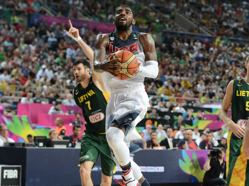 Kyrie Irving vs. Lithuania