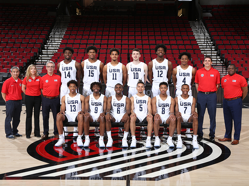 2019 USA Nike Hoop Summit Team