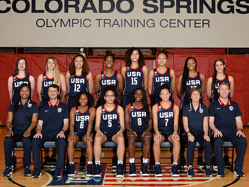 2019 USA Basketball Women's U16 National Team