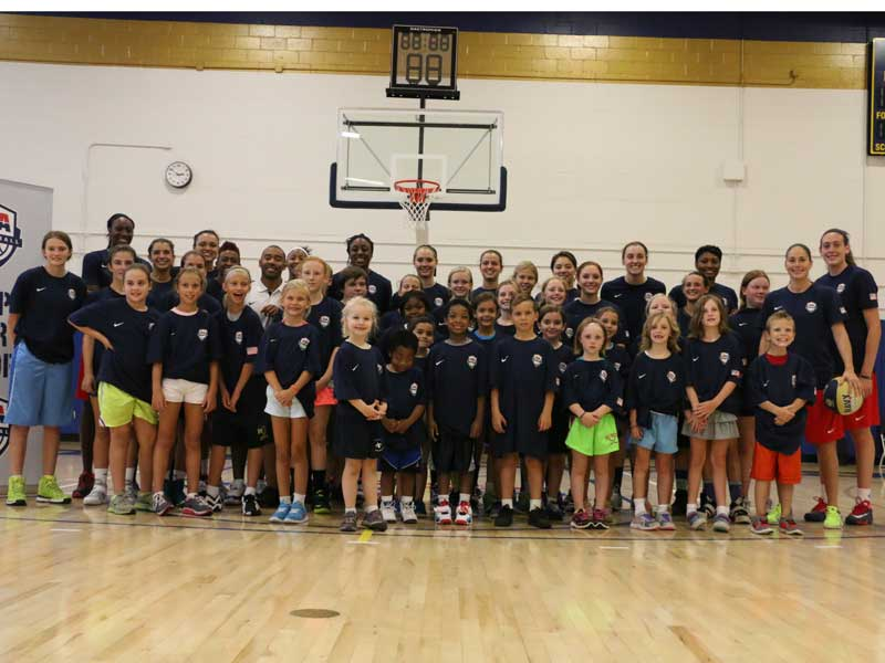 Women's National Team youth clinic