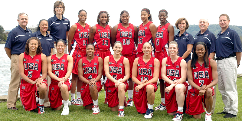 2007 USA Women's Olympic Qualifying Tournament Team