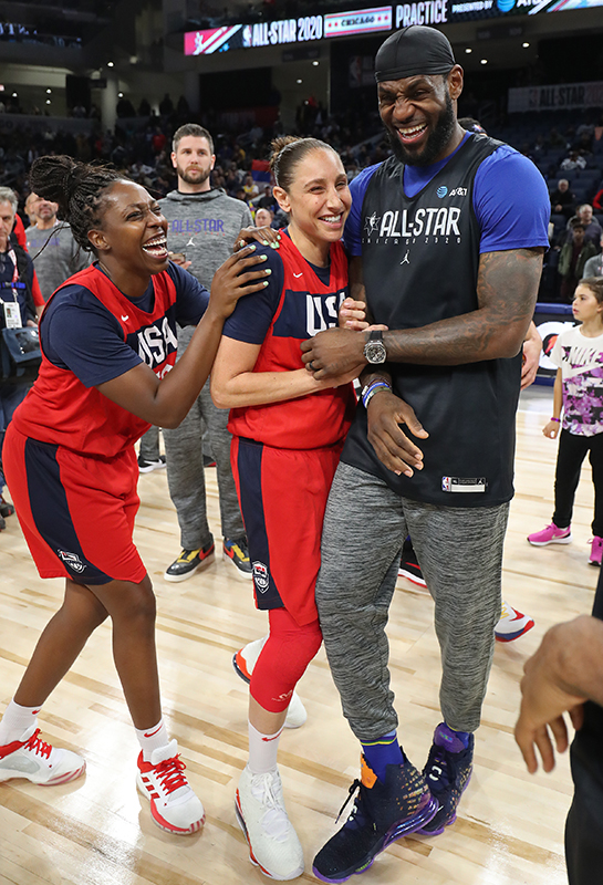 48 2020 wnt at all star gray taurasi lebron GettyImages 1201106134jpg