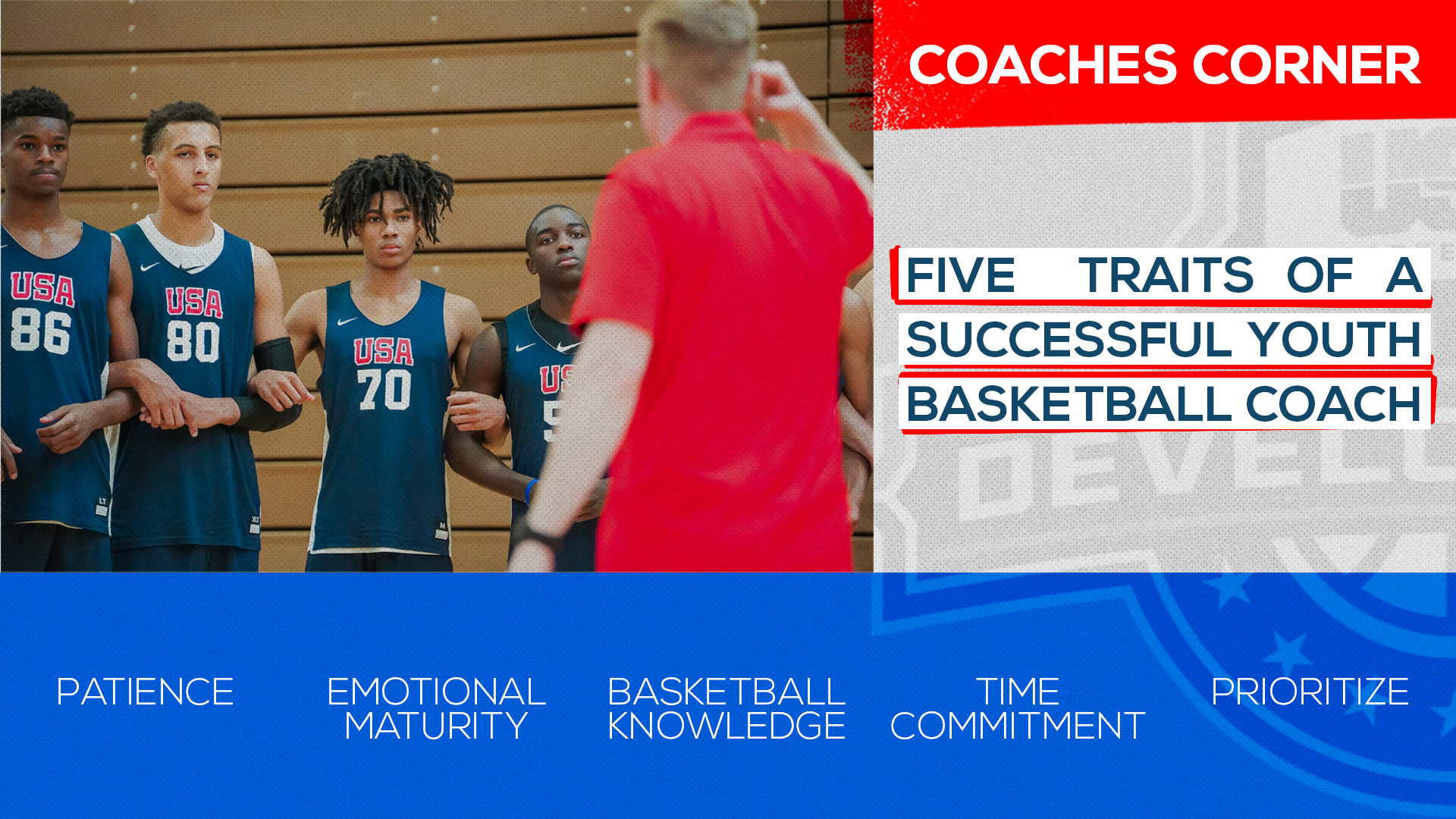 Coaches Corner Five Traits