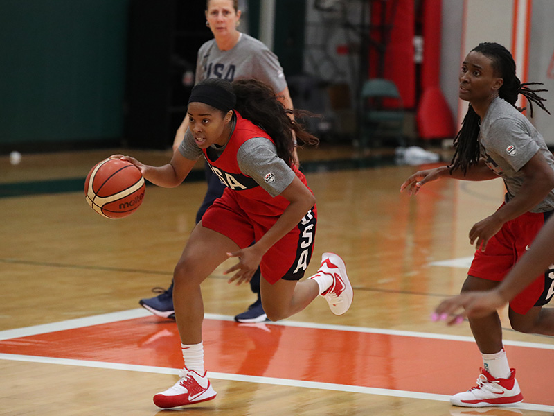 USA Basketball AmeriCup Team Training Camp