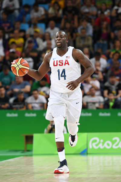 Draymond Green had four rebounds and two points in the game.