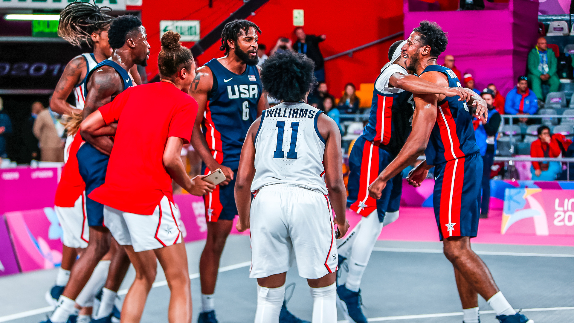 2019 U.S. Pan American Games 3x3 Teams