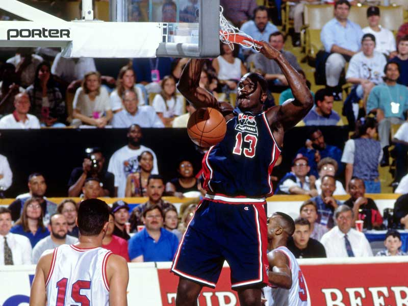 Shaquille O'Neal at the '94 World Championship