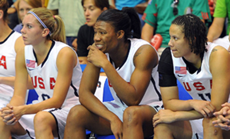 2011 Women's Pan American Games bench